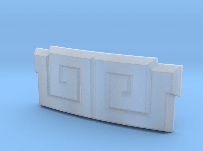 Dairanger Buckle 3d printed