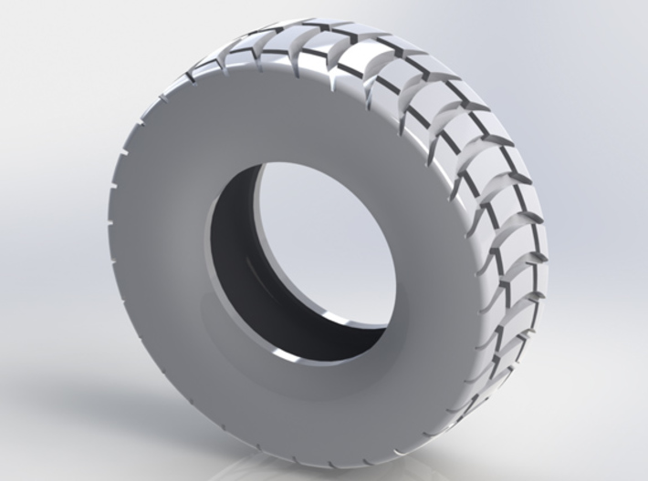 85mm Diameter Chunky Tyre 3d printed
