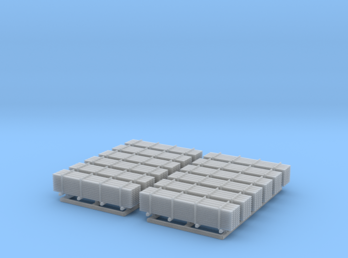 12 Stacks Of 2x12 Lumber Z Scale 3d printed