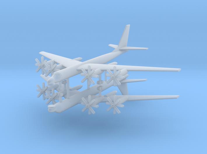 1/700 TU-95MS (Bear H) Stragetic Bomber (x2) 3d printed