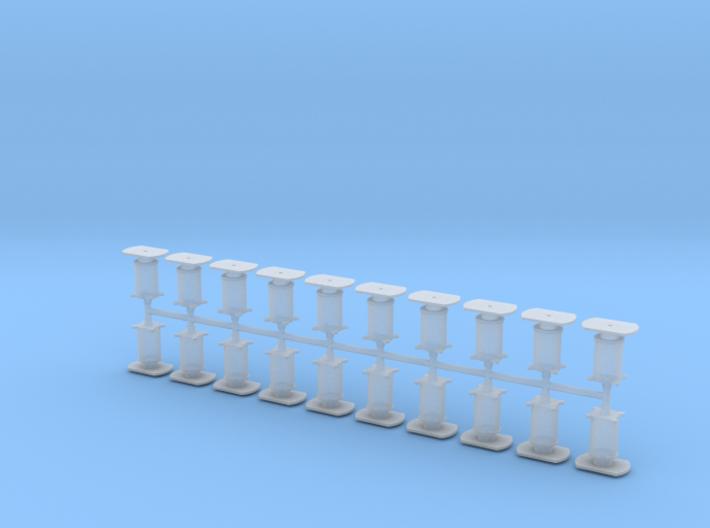 20 Buffers Reeks 84 NMBS / SNCB 3d printed