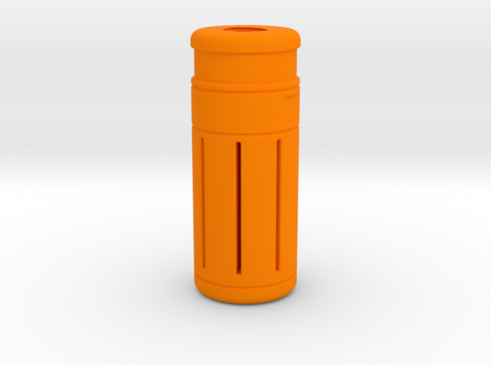 80 mm Orange Tip 14 mm CCW 3d printed