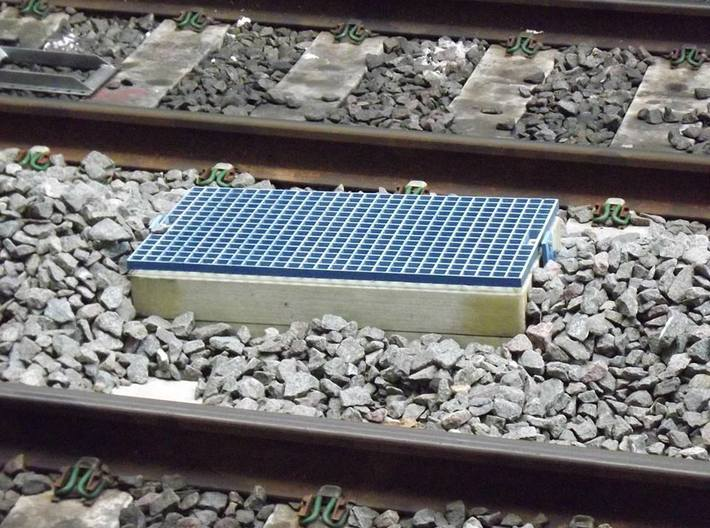 L-01 Catch Pits (Pack of 12) 3d printed A Catchpit at Reading Station