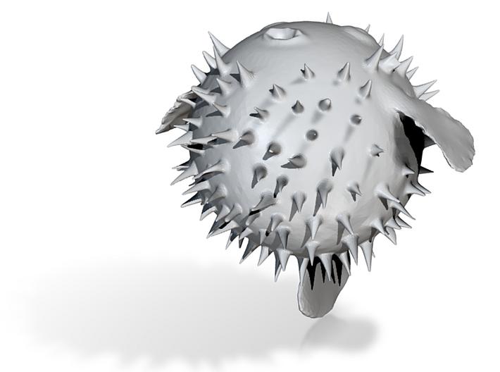 Pufferfish 3d printed