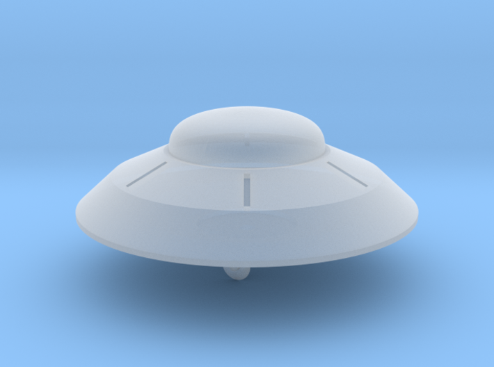 1/700 Flying Saucer 3d printed