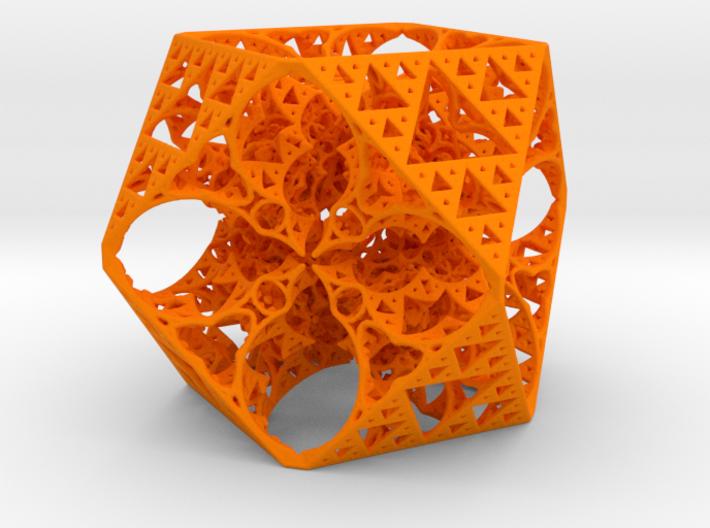 Geoorganic Squareangle Spheres 3d printed
