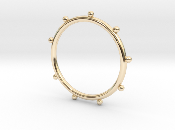 Ball Ring - Sz. 7 3d printed