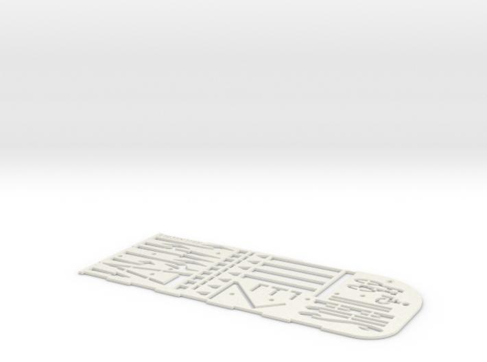 Fahrbahnmarkierungsschablone (TT 1:120) 3d printed