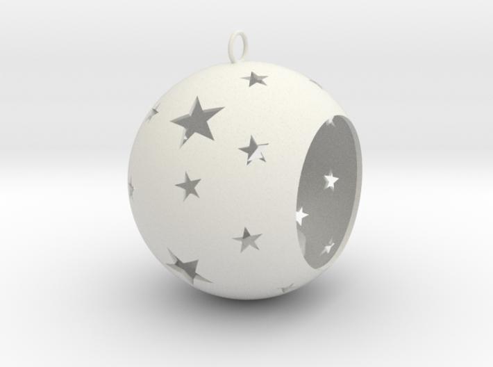 Christmas Bauble Tealight Stars 3d printed