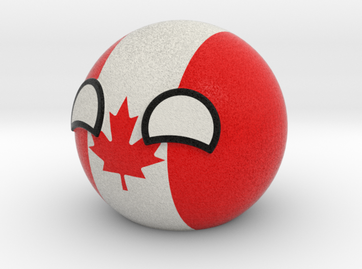 Canadaball 3d printed