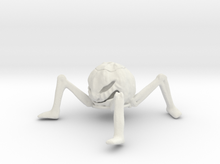 Pumpkin Hollow With Legs 75mm X 75mm 3d printed