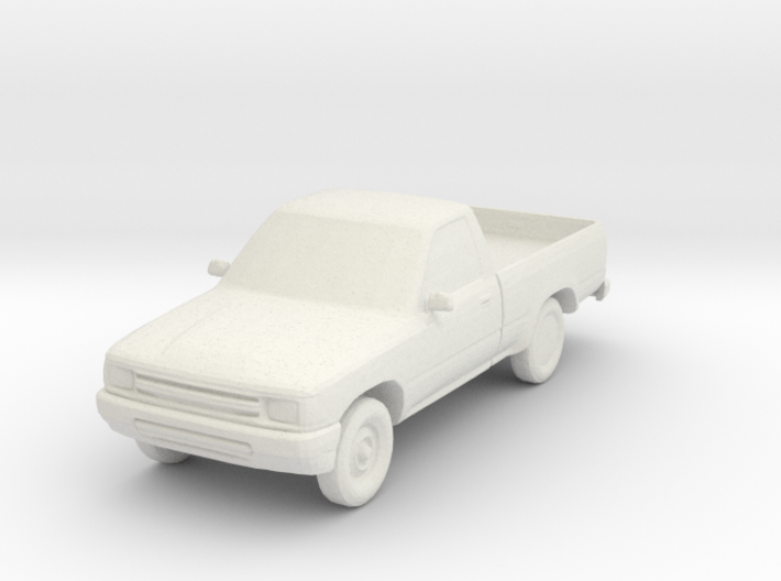 1:87 1992 Toyota Pickup 3d printed