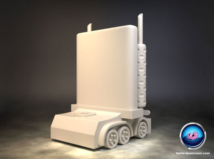 My Little Optimus Prime 3d printed
