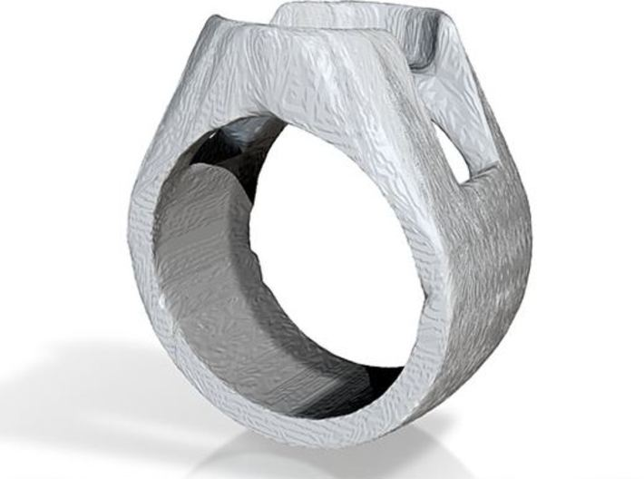 sinestro ring band. 3d printed