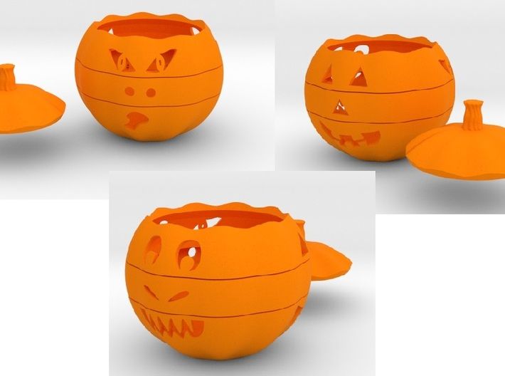 Dial-O-Lantern 3d printed Add a caption...