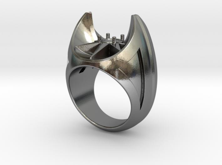 Bat Ring - Size 12 (21.49 mm) 3d printed