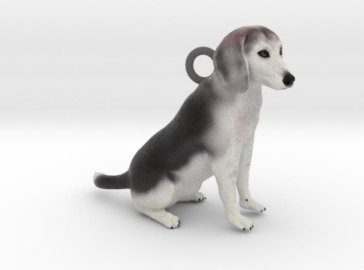 Custom Dog Earrings - Buddy 3d printed