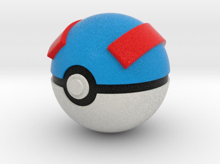 Great Ball Original Size (8cm in diameter) 3d printed