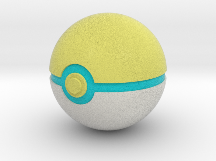 Park Ball Original Size (8cm in diameter) 3d printed