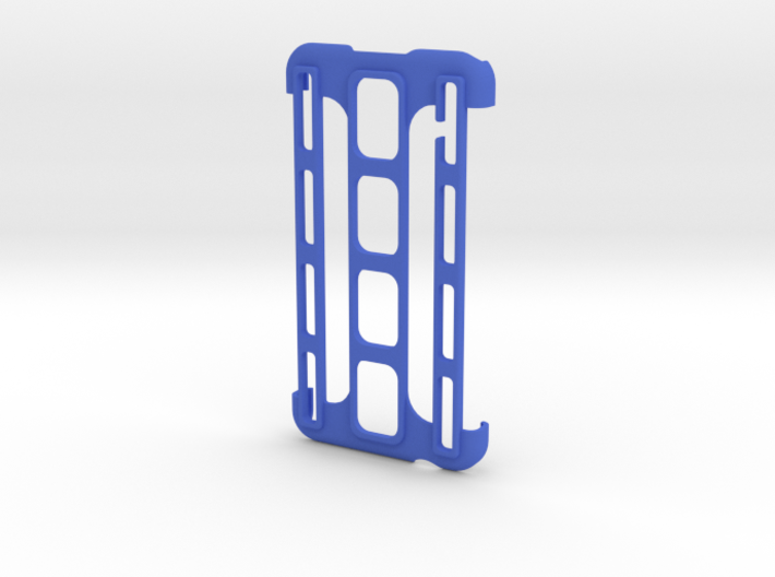 Samsung Galaxy S5 Triple Spine case 3d printed
