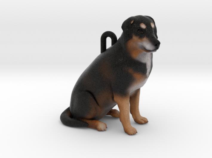 Custom Dog Ornament - Maggie Mae 3d printed
