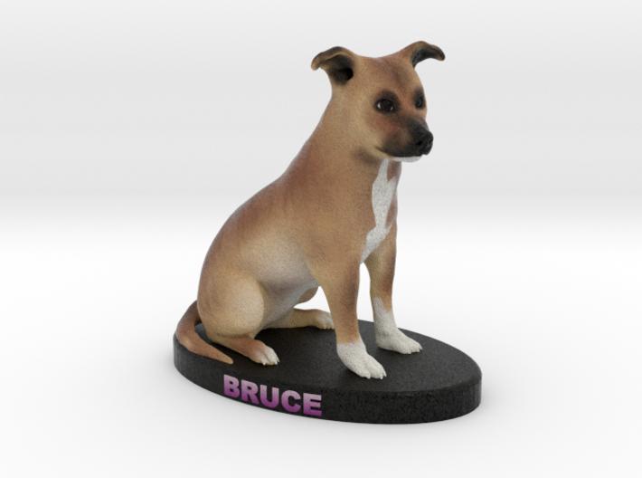 Custom Dog Figurine - Bruce 3d printed