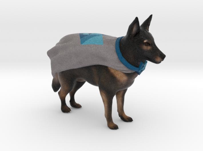 Custom Dog Figurine - Eddi 3d printed