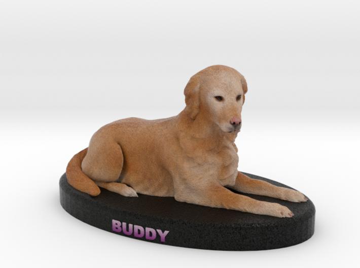 Custom Dog Figurine - Buddy Boy Floyd 3d printed