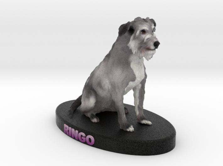 Custom Dog Figurine - Ringo 3d printed