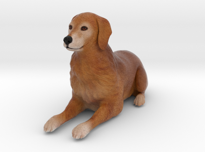 Custom Dog Figurine - Watson 3d printed