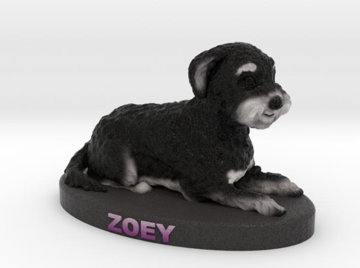 Custom Dog Figurine - Zoey 3d printed