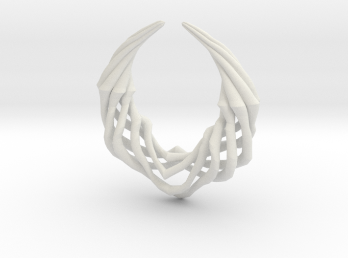 Claw Pendant 3d printed