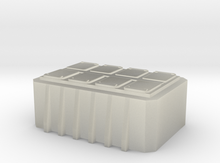 1/350 scale MK41 8 canister VLS 3d printed