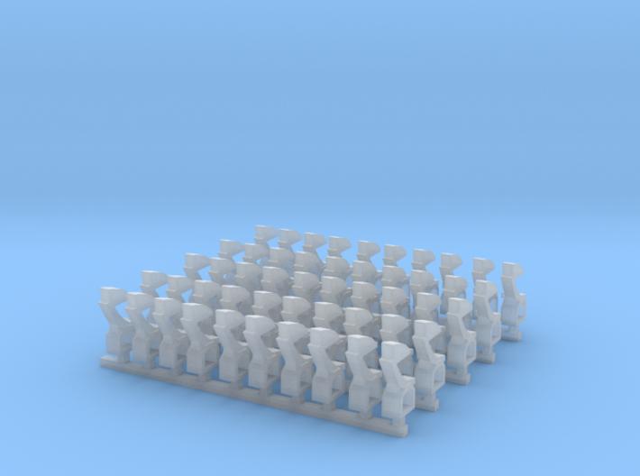 Kurze Kupplungen - 50 Stück 3d printed