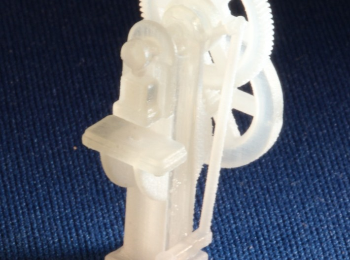 Punch S Scale 3d printed Add a caption...