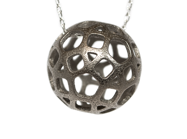 DodecaBall Pendant 3d printed Looks great as a pendant!