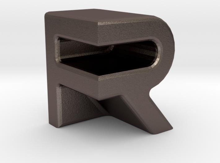 FR 3D initials 3d printed
