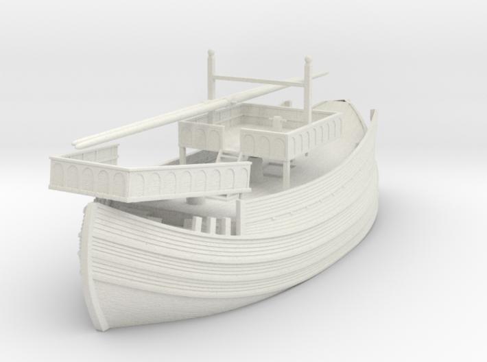 Venicia, 1/72 scale model of Medieval Venetian Shi 3d printed