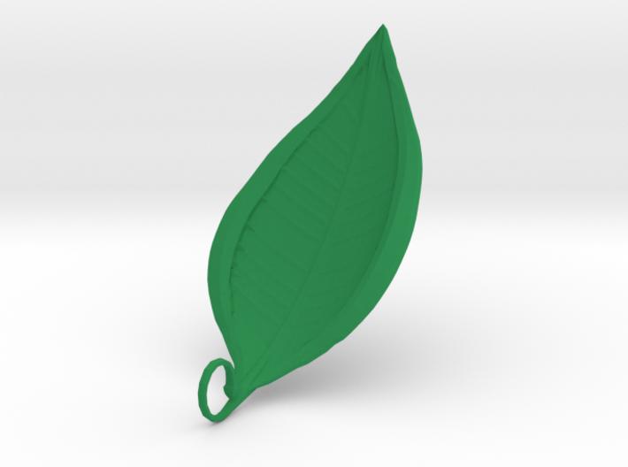 Leaf Necklace 1 3d printed