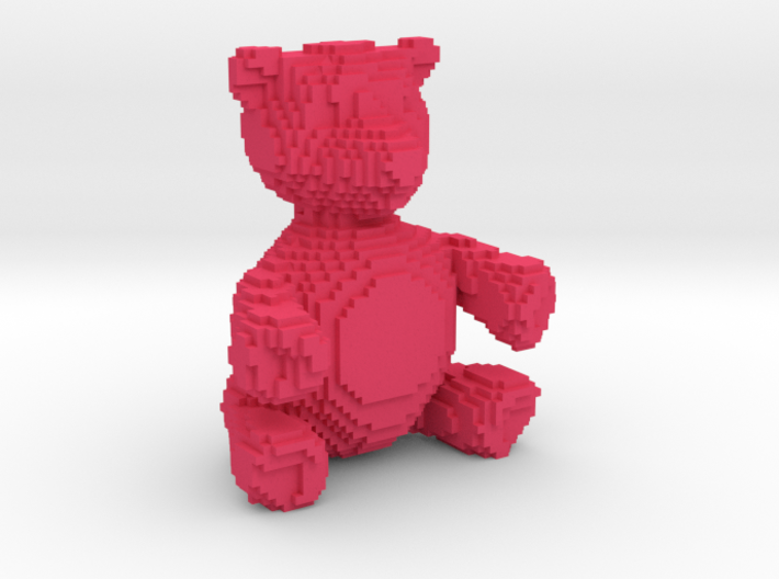 Voxel Bear 3d printed