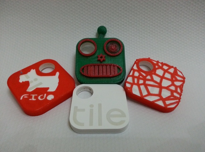 PimpMyTile: Woof cover 3d printed