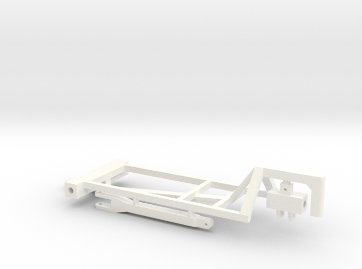 1/64 1000&1200 Gal Twin Tank Cart Kit 3d printed