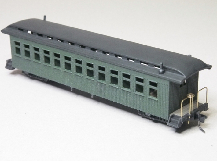 HOn3 40ft Coach D without Interior 3d printed