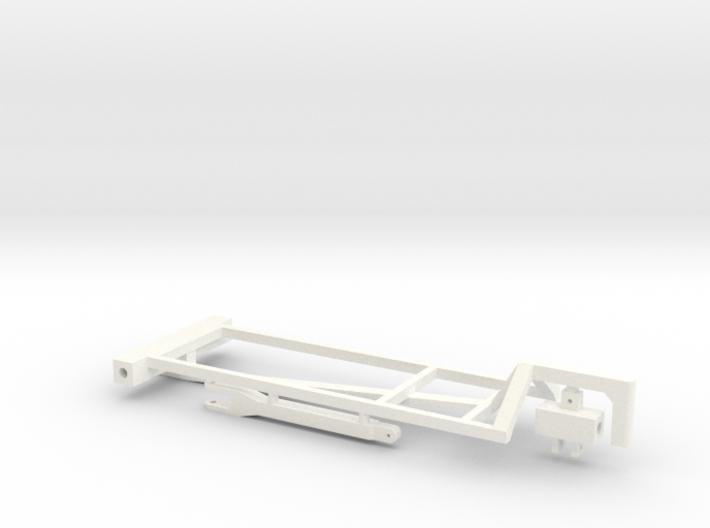 1/64 2000 Gal Dual NH3 Cart Kit 3d printed