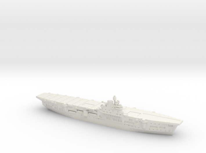 HMS Unicorn 1/1800 3d printed