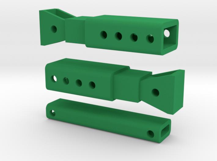 Trench Box Bars 3d printed