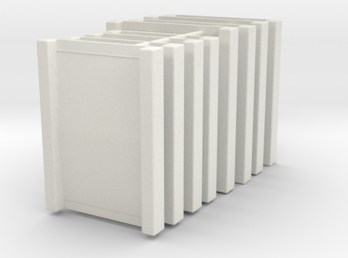 Pack Dock Plates  HO 1/87 scale 3d printed As delivered tabbed together