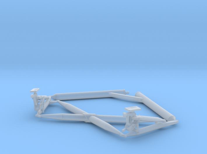 10-Lunar Module Landing Gear Cross Brace 3d printed