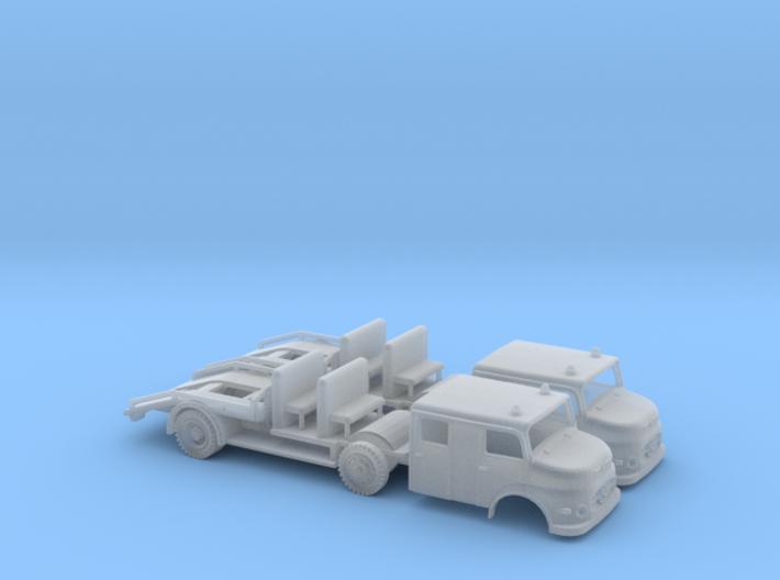 N Gauge 1:160 2x Bausatz Mercedes 1113 Abschleppwa 3d printed