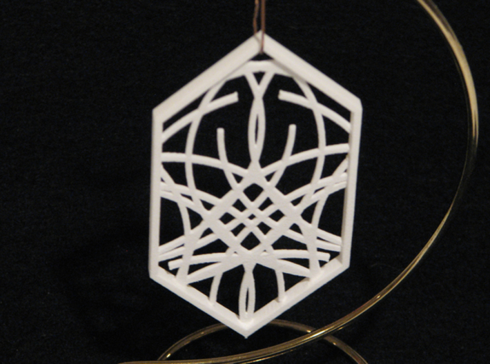 Ornament 04e 3d printed